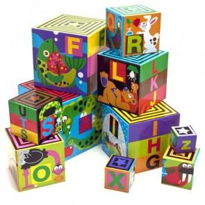 Alphabet Nesting Stacking Blocks By Melissa Doug